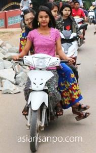 ミャンマー ベイ バイク