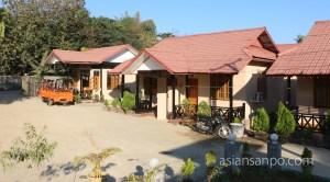 ミャンマー ミャウー ホテル