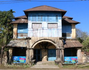 ミャンマー シットウェ 旧家