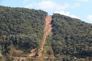 ミャンマー マグェーアン アラカン山脈