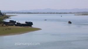 ミャンマー ラカイン州 ミャウーーシットウェイ