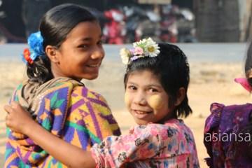 ミャンマー ミャウーーアン ムスリムの村
