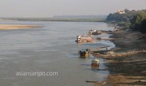 ミャンマー マグェ エーヤワディー川