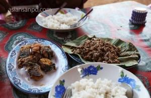 ミャンマー ラヘー 食事