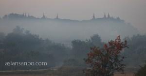 ミャンマー ミャウー 早朝