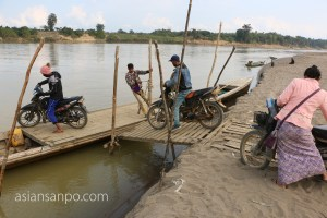 ミャンマー カムティ チンドゥイン川