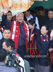 ミャンマー ラヘー ナガ族 ティンチョー大統領