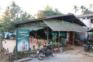 ミャンマー ミャウー 食堂