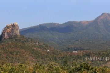 ミャンマー ポッパ山