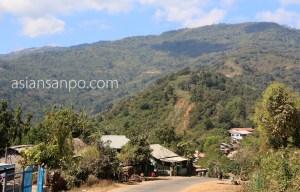 ミャンマーマグェ-アン アラカン山脈