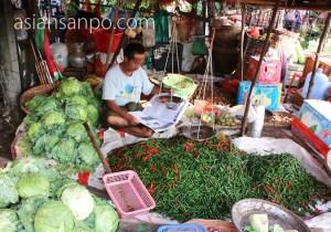 ミャンマー チャオピュー市場