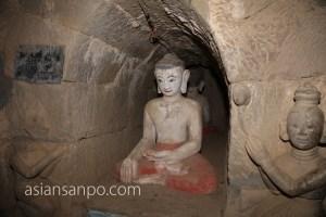 ミャンマー ミャウー ドッカンティン寺院