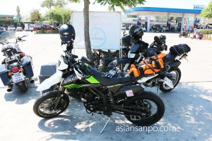 タイ チェンライーチェンマイ バイク