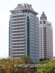 ミャンマー ヤンゴン サクラタワー