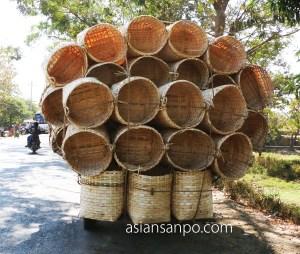 ミャンマー パテイン-バゴー 積載オーバー
