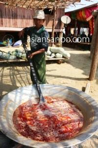 ミャンマー シュエボー-カタ 得度式