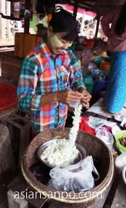 ミャンマー カレイワ 市場