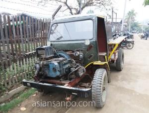 ミャンマー カレイワ 車