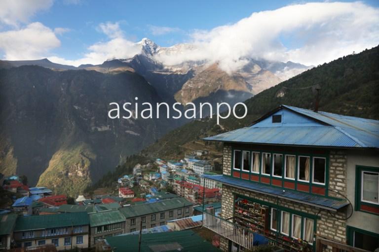 ネパール ナムチェバザール