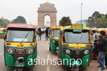 インド ニューデリー インド門