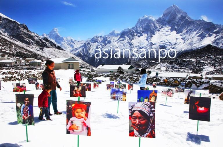 ネパール エベレスト街道 クンデ ギャラリー