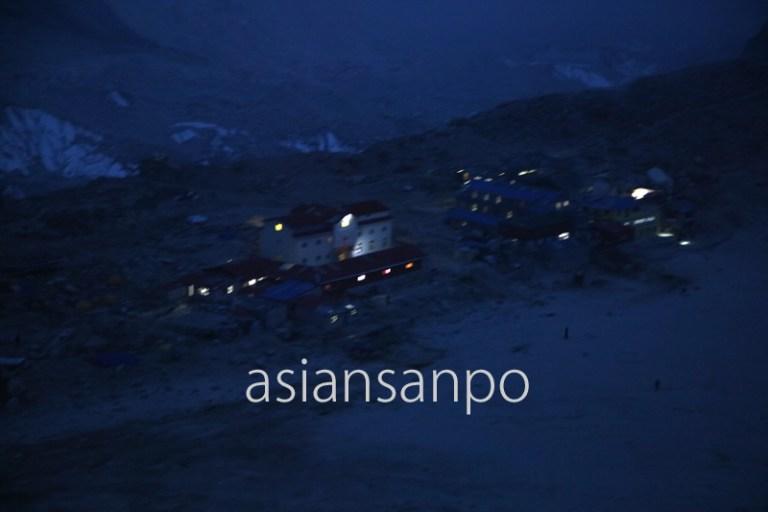 ネパール エベレスト カラパタール ゴラクシェプ