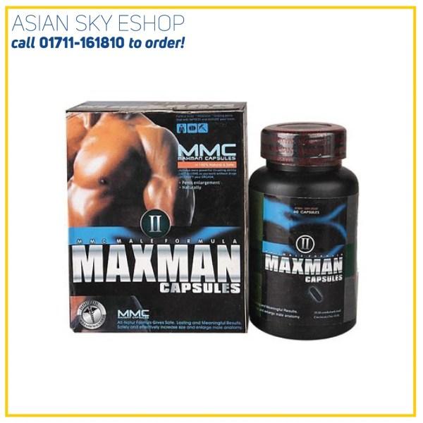 Maxman 60 Pcs Capsules For Men