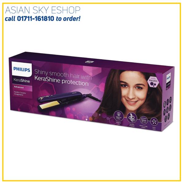 PHILIPS BHS386 HAIR STRAIGHTENER CONTROL