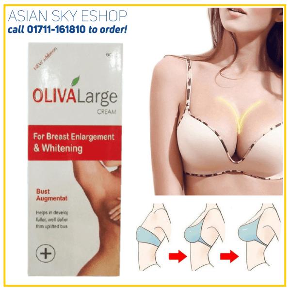 Oliva large Breast Cream