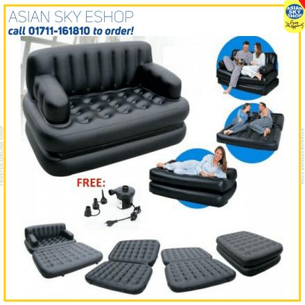 Bestway air sofa bed 5 in 1