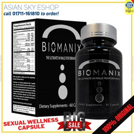 100% Original biomanix Sexual Wellness capsule
