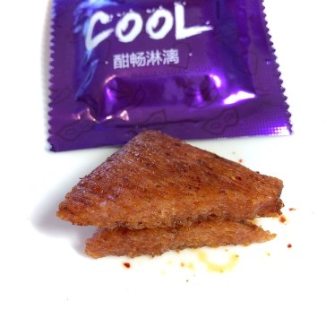 Purple Packaging - Three squirrels Spicy Strips Chinese Special Spicy Snacks 三只松鼠