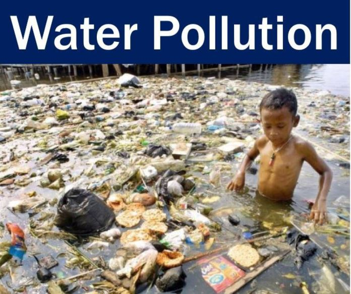 Causes of Water Pollution.
