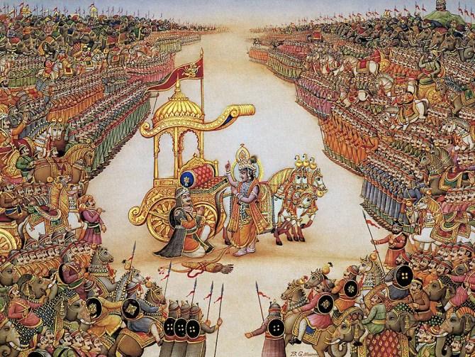 Le Mahabharata, Pandavas contre Kauravas Hindouisme
