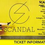 Tournée européenne pour le groupe Scandal