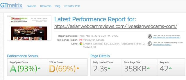 Liveasianwebcam Load Time