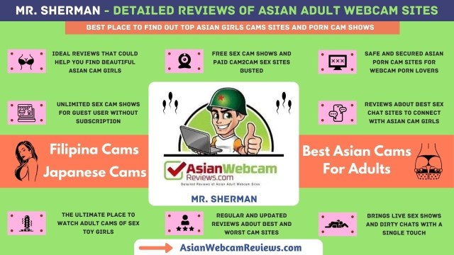 Asian sex cams Infographic