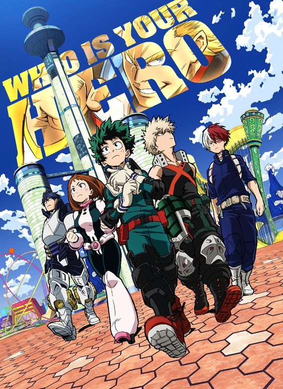 Read more about the article Boku no Hero Academia