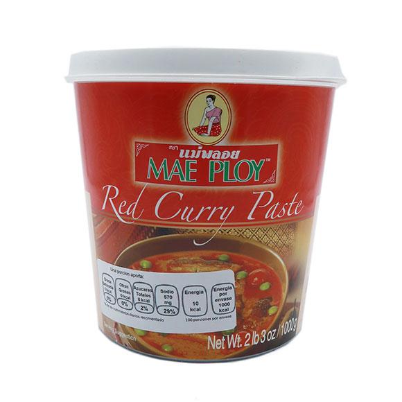 Mae Ploy Pasta De Curry Rojo