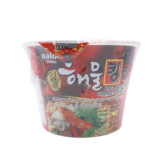 Paldo King Noodle Sabor Mariscos