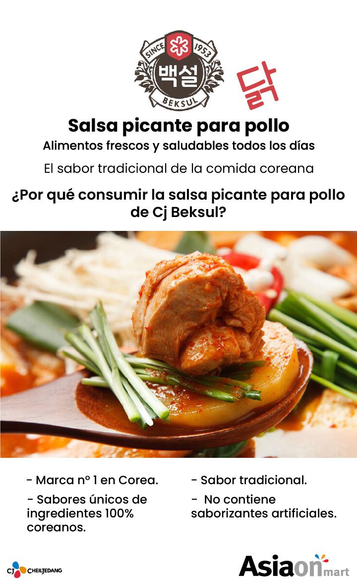 Cj Beksul Salsa Picante Para Pollo Salteado