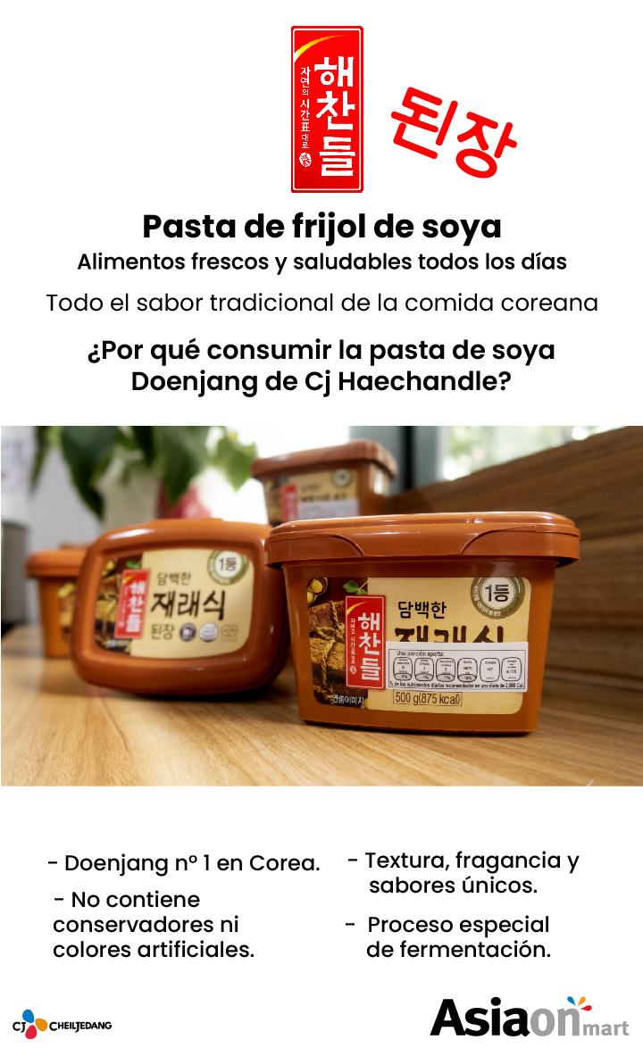 Cj Jechandul Pasta De Frijol De Soya 500g