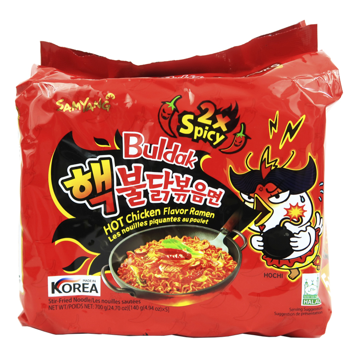 Samyang Hot Chicken Ramen 2X Spicy 5Pack