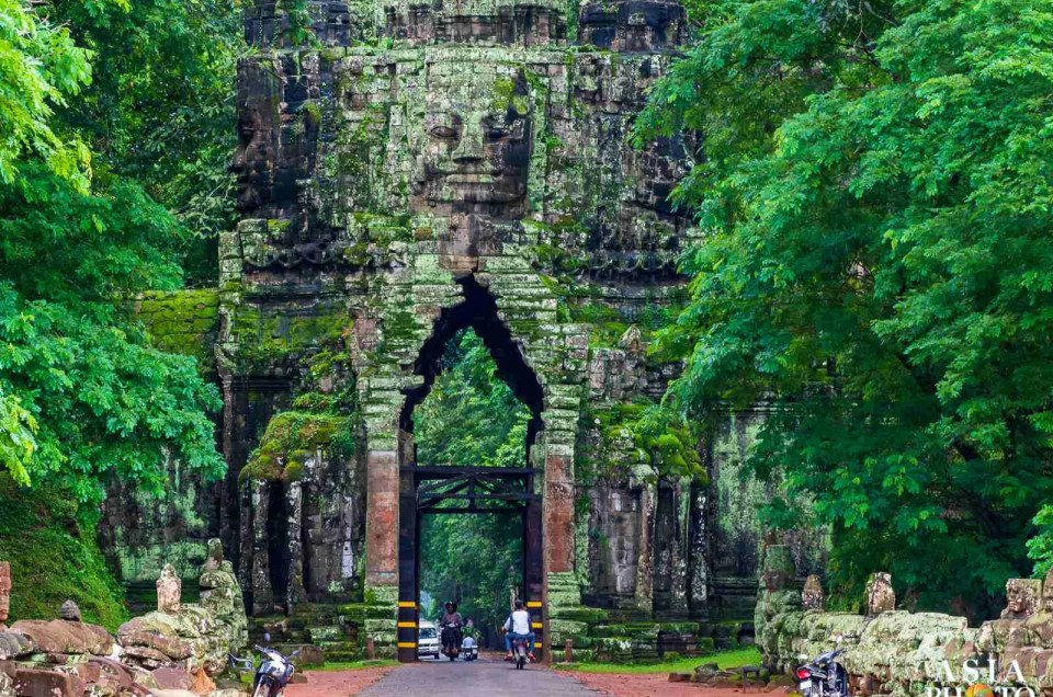 Angkor Thom's North Gate, Preah Paliley & the Terrace of the Leper King