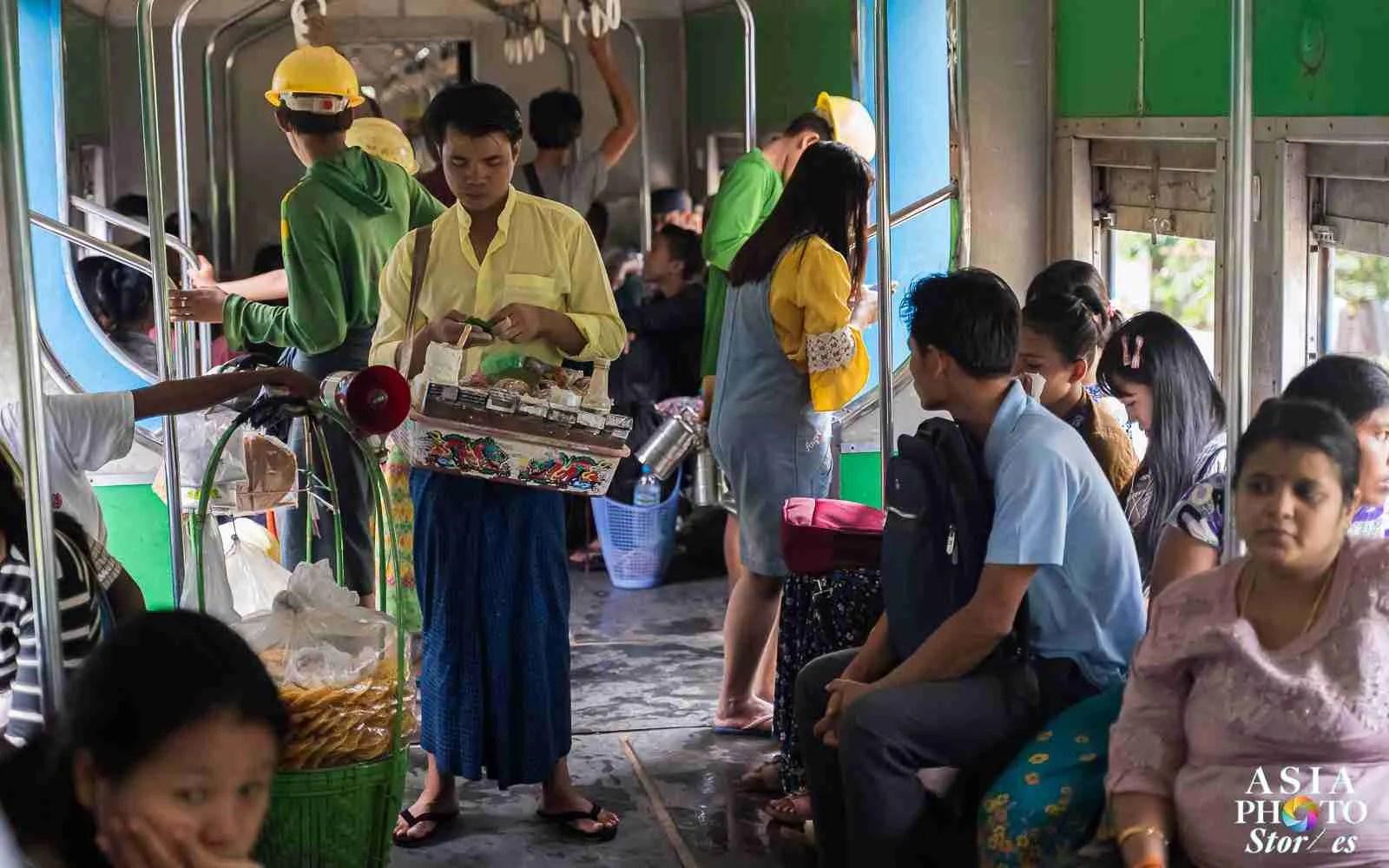 Yangon's Circle Train