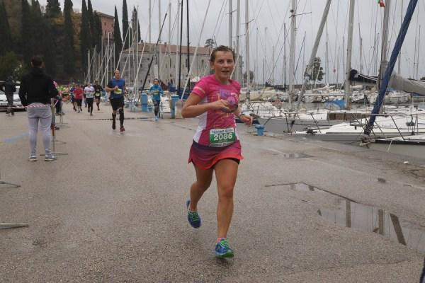 biegaczka, Garda, półmaraton