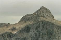 Północna ściana góry Triglav w Słowenii