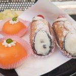 Włoskie desery na talarzu