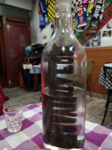 Butelka zalkoholem