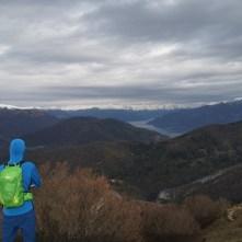 Alpy, Jezioro Como, widok zCorno Birone